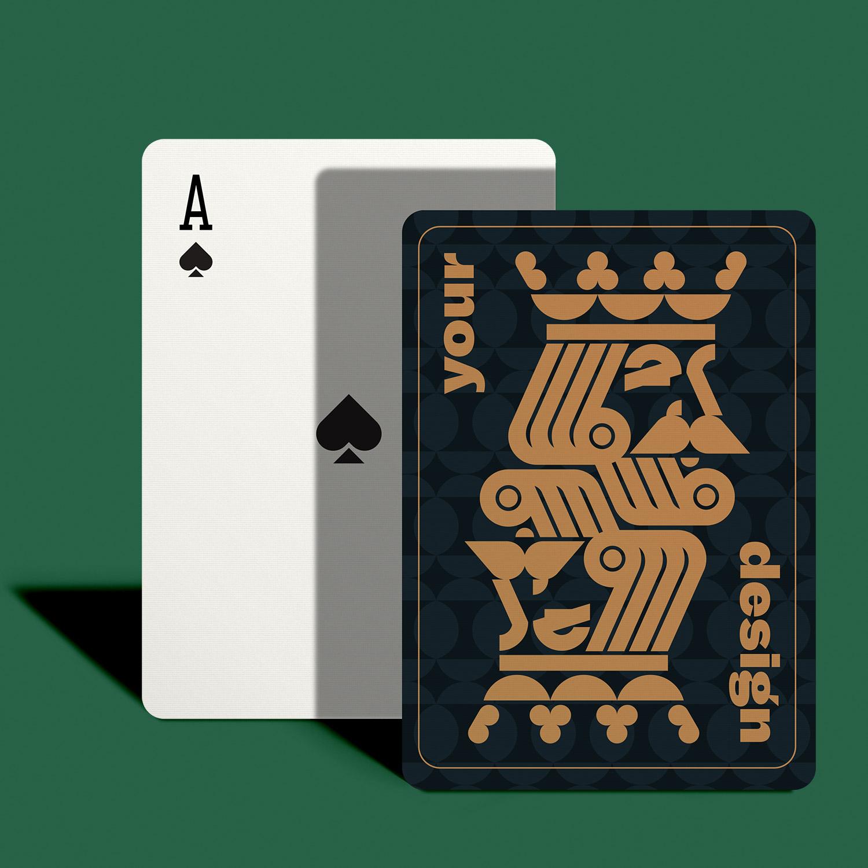 custom poker cards